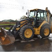2007 CAT 434E Turbo Powershift Backhoe Loader, Piped, 4in1 Bucket, Bucket - CAT0434EVFSH00617