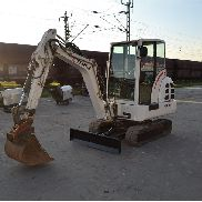 2006 Terex HR14 Rubber Tracks, Blade, Offset, QH, Piped, Aux. Piping c/w Bucket - 356/4256
