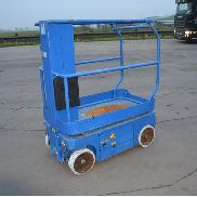 2005 Upright TM12 Wheeled Manlift Access Platform - 50479
