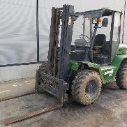 2005 Agria TH-30.25 Rough Terrain Forklift c/w 3 Stage Mast, Sideshift - 4***B