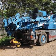 2000 Kobelco RK120 12 Ton 4x4 Rough Terrain City Crane c/w 12 Ton Hookblock, 5.8m Fly Jib, 2 Stage Triple Offset Swingaround Boom Extension, A/C - EK01-00012