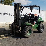 2005 Agria TH-30.25 Rough Terrain Forklift c/w 3 Stage Mast, Forks (Spanish Reg. Docs. Available / Doc. Española Disponible) (Copy of Declaration of Conf. Available / Copia de CE disponible) - E**************B