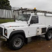 2011 Land Rover Defender 110 Hard Top 2.4 TDCI LWB 6 Speed, 4WD Utilities Van, Reverse Camera, Winch, Roof Rack, A/C, FSH, Spare Key (Reg. Docs. Available, Tested 10/17) (PLUS VAT) - FN11 OPU - SALLDBNS7BA823338