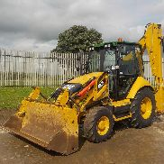 2014 CAT 432F Turbo Powershift Backhoe Loader, SRS, QH, Piped c/w Joystick Controls, A/C - S**************************4