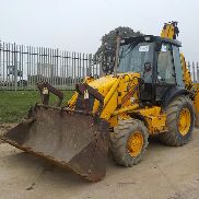JCB 3CX Turbo Powershift Sitemaster Backhoe Loader, QH, Piped c/w Powerslide - Y83 FEL - SLP3CXTS1E0921186