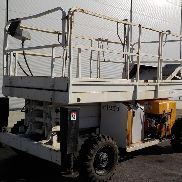 2003 Haulotte H12SX Wheeled Scissor Lift Access Platform (Copy of Declaration of Conf. Available / Copia de CE disponible) (627 Hours) - CD104910