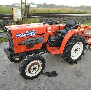 Hinomoto C174 4WD Compact Tractor c/w Cultivator (970 Hours) - 00199