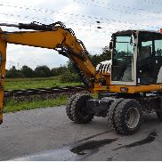 2004 Schaeff HML32 Wheeled Excavator, Blade, Offset, CV, QH, Piped, Aux. Piping c/w 3 Piece Boom - 3200-0479