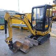 2014 CAT 301.4C Rubber Tracks, Blade, Offset, QH, Piped c/w 3 Buckets - CAT3014CJLJK02005