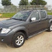 2011 Nissan Navara Tekna 2.5 DCI 4WD Crew Cab Pick Up, Auto, Full Leather, Electric Heated Seats, Sat Nav, Reverse Camera, Bluetooth, Cruise Control, Climate Control, FSH (Reg. Docs. Available, Tested 08/17) (PLUS VAT) - DE61 WWV - VSKCVND40U0435818