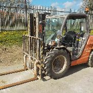 2005 Manitou MH25-4T 4WD Rough Terrain Forklift c/w 2 Stage Free Lift Mast, Forks - 2****2