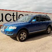 2006 Volkswagen Touareg TDI Auto, Leather Heated Seats, Parking Sensors, Cruise Control, Spare Key (Reg. Docs. Available) (NO VAT) - THZ 8445 - WVGZZZ7LZ7D004353