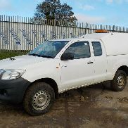 2015 Toyota Hilux ACTIVE D-4D 4X4 Extended Cab Pick Up, A / C c / w Truckman Canopy, FSH (Documentos Reg. Disponible) (MÁS IVA) - SM64 MOU - MR0HR22G201523353