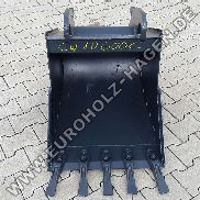 60 cm CW 10 C Deep bucket TL for minibagger from 4 to 6 tons Excavator spoon