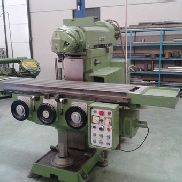 ZAYER 1200AM universal milling machine with automatic movement ram.