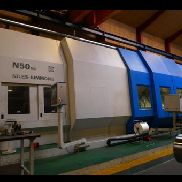 Niles SIMMONS N50 / 2 MC x 4500 CNC heavy duty lathe