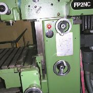 Used DECKEL FP-2 Universal knee and column milling machine