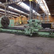 Skoda SR Ø 2000 x 6000 mm heavy duty lathe