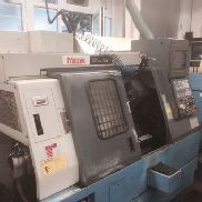 Used Mazak Super Quick Turn 10 M CNC Lathe with driven tools
