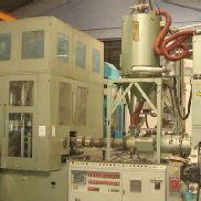Used Aoki SBIII 350 LL 40 Blowmoulding machine