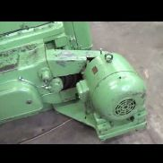 Pfauter RS 3 Horizontal gear hobbing manual machine