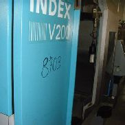 Index V200 vertical turret lathe with cnc
