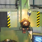 TOS SKJ-8 vertical turret lathe with cnc
