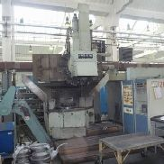 TOS SKQ 8 vertical turret lathe with cnc