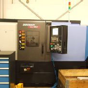 Used Doosan Lynx 220 LY (C) CNC Lathe with Y-axis and driven tools