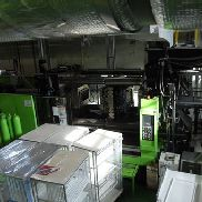 Used ENGEL 1500 ton two shot injection molding machine