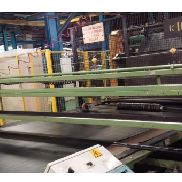 David Bridge 1700 mm Bias Cutting Line pour caoutchouc