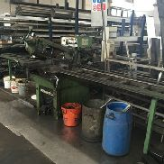 Pedrazzoli brown sn 270 ap cn automatico band saw for metal