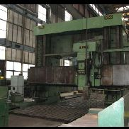 Used LINE SL 245 3200x20000mm portal / gantry milling machine