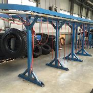 Complete tyre retreading production line (truck tires)