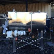 ALFA LAVAL 1500L SS Jacketed Paddle Mixer