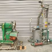 8.2 BF. Electric heated water temperer with 20GPM pump. Pelletizer