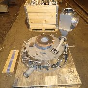 "24"" Fluid Energy Micro-Jet Mill, 304 S/S Carbide Lined"