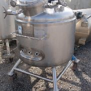 90 GAL PRECISION STAINLESS REACTOR, 316 S/S, 50/50#