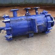 87 SQ FT ALFA LAVAL SPIRAL HEAT EXCHANGER, S/S, 116#