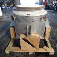 100 GAL PFAUDLER GLASS LINED REACTOR, 100/90#