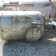500 GAL ARDETH ENGINEERING MIX TANK, S/S