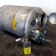 500 GAL 304 STAINLESS STEEL MIX TANK