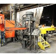 210 TON AMD 4-POST HYDRAULIC AUTOMATIC BAR SHEAR AND BILLET
