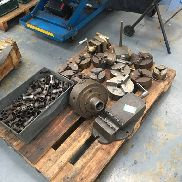 Lot 369 - Pallet of Various Chucks inc Vice & Collets