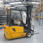 JUNGHEINRICH EFG 218 Electric Forklift truck with charger