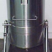 Walker Tank SS Single Wall 132 GAL