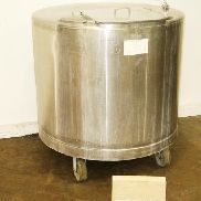 Lakso Tank SS Single Wall 500 GAL
