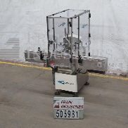 Cozzoli Filler Liquid Pos Disp VR520Q Cozzoli inline automatic intermittent motion 4 head P/D liquid filler capable of 120cpm