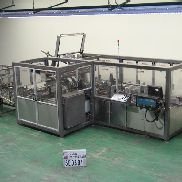 Serpa Packaging Case Packer Wrap Around 3000WACP Wrap, Hot Melt, 30 cpm, laner