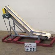 "Feeder Incline/Cleated 84""L X 10""W"